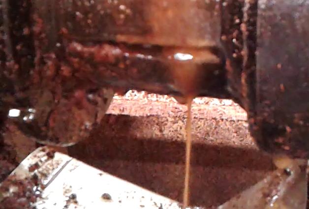 Extraktion von Sheabutter mit Ölpresse per Kaltpressung